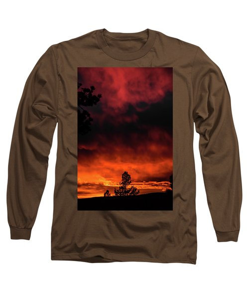 Fiery Sky Long Sleeve T-Shirt