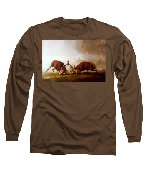 Fighting Stags II. Long Sleeve T-Shirt