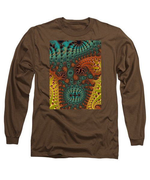 Filigree And Lace Long Sleeve T-Shirt
