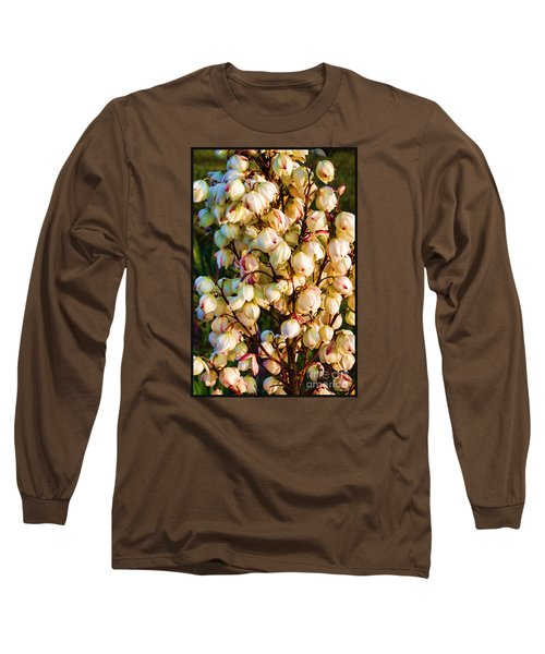 Filled With Joy Long Sleeve T-Shirt by Roberta Byram
