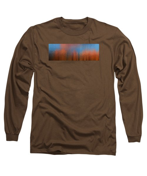 Long Sleeve T-Shirt featuring the photograph Fire And Ice by Ken Smith