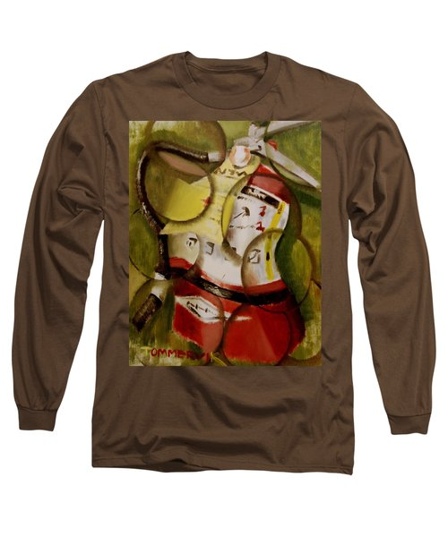 Tommervik Abstract Fire Extinguisher Art Print Long Sleeve T-Shirt