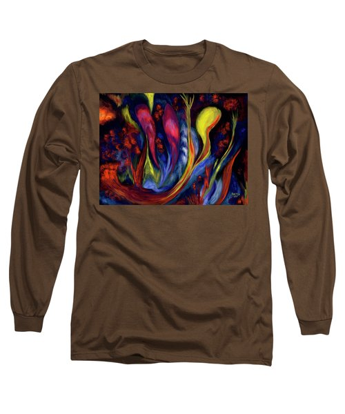 Fire Flowers Long Sleeve T-Shirt