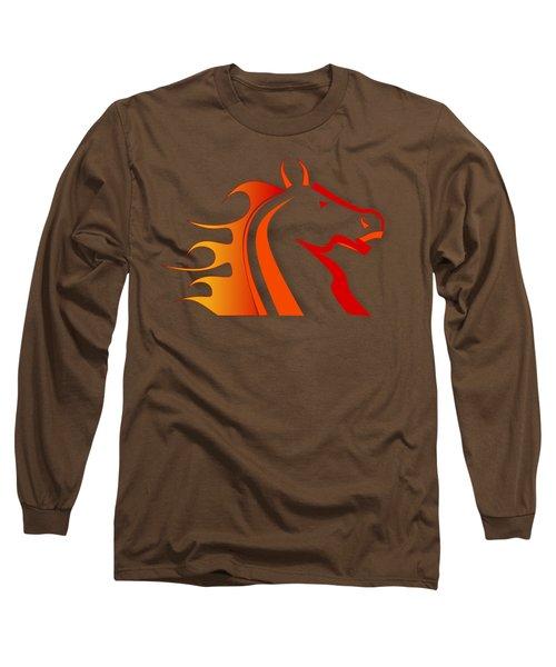Fire Horse Long Sleeve T-Shirt