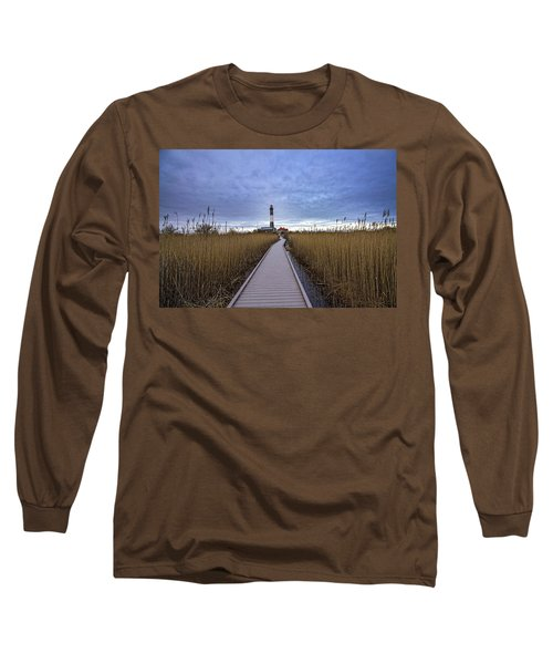 Fire Island Lighthouse Long Sleeve T-Shirt