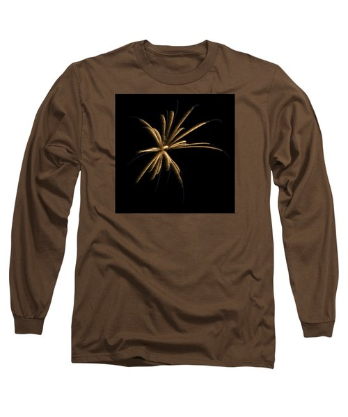 Fireworks 1 Long Sleeve T-Shirt by Ellery Russell