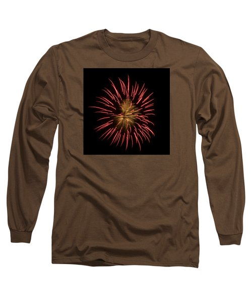 Fireworks 2 Long Sleeve T-Shirt by Ellery Russell