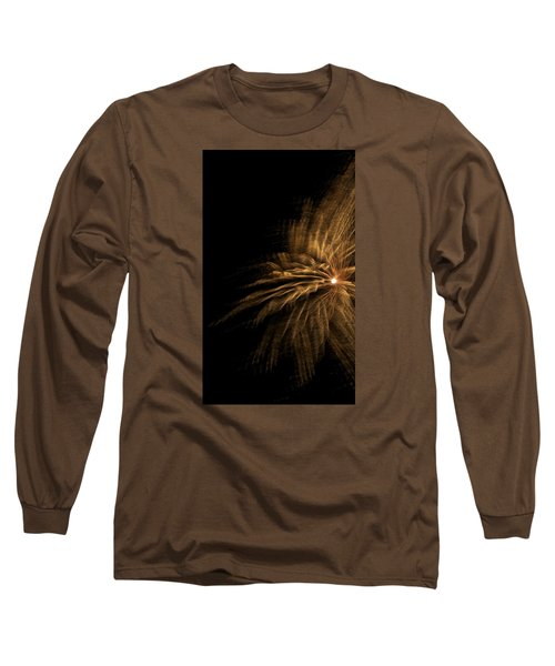 Fireworks 5 Long Sleeve T-Shirt by Ellery Russell