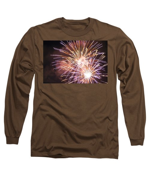 Fireworks In The Park 3 Long Sleeve T-Shirt