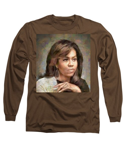 First Lady Michelle Obama Long Sleeve T-Shirt