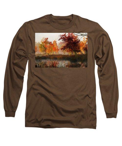 First Light At The Pine Barrens Long Sleeve T-Shirt