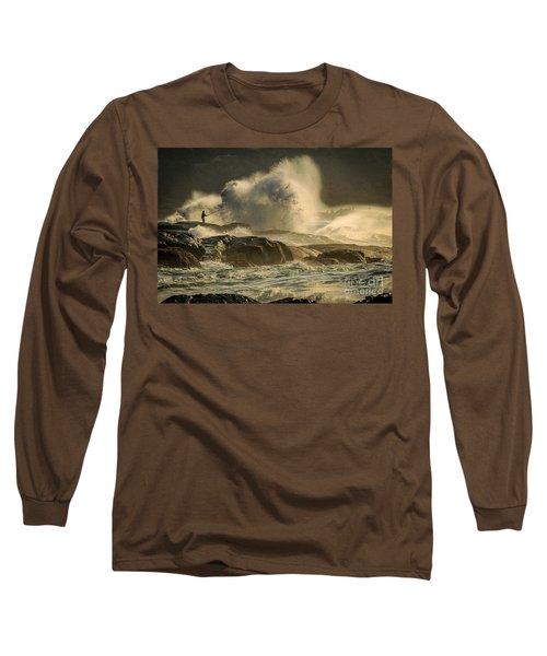 Fisherman Splash Long Sleeve T-Shirt