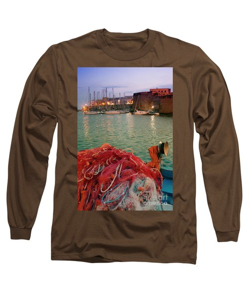 Fisherman's Net Long Sleeve T-Shirt