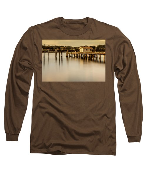 Fishermen Fuel Dock Long Sleeve T-Shirt