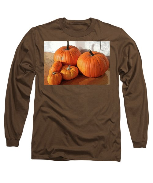 Five Pumpkins Long Sleeve T-Shirt