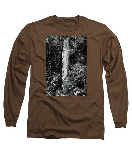 Fla-150523-nd800e-24853-bw-green Long Sleeve T-Shirt by Fernando Lopez Arbarello