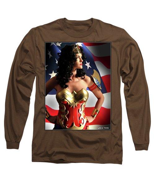 Flag And Fury Long Sleeve T-Shirt