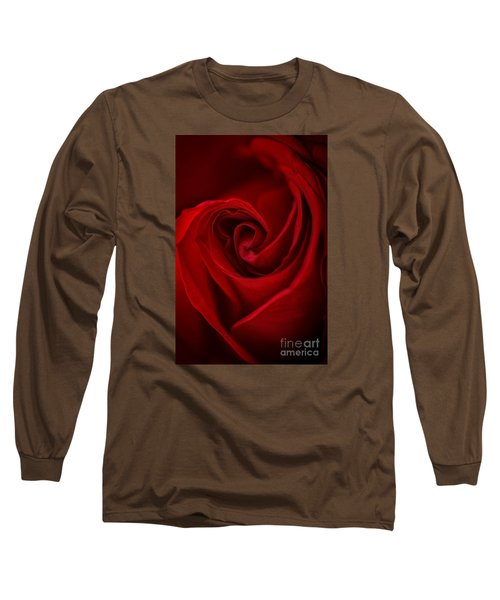 Flame Long Sleeve T-Shirt by Amy Porter