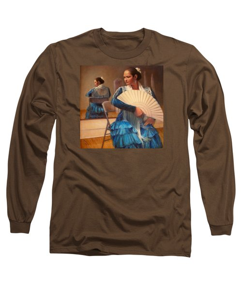 Flamenco 1 Long Sleeve T-Shirt by Donelli  DiMaria