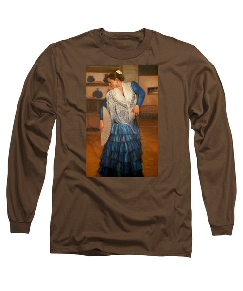 Flamenco 2 Long Sleeve T-Shirt by Donelli  DiMaria