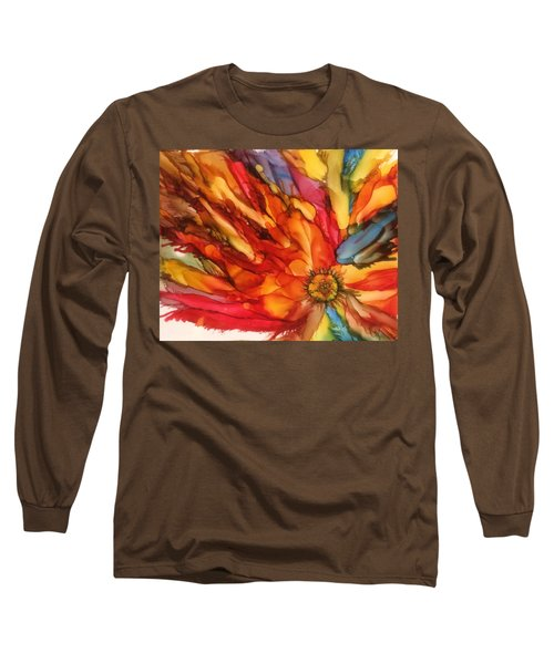 Burst Long Sleeve T-Shirt by Pat Purdy