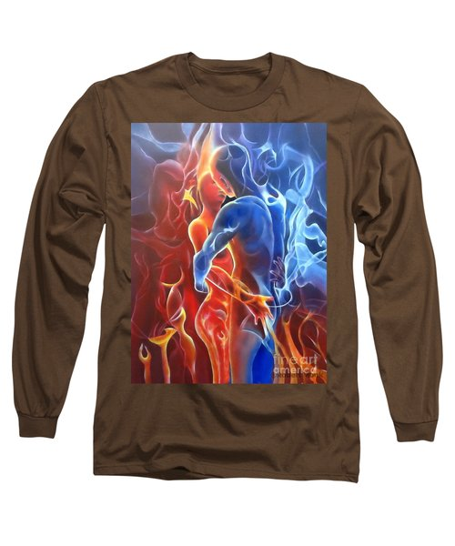 Flaming Lovers Long Sleeve T-Shirt
