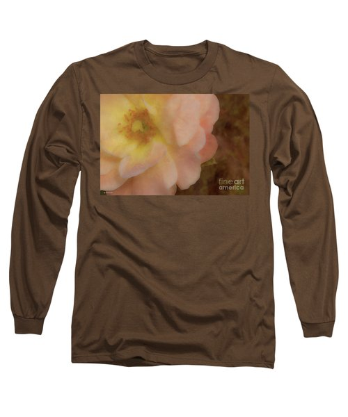 Flaming Rose Long Sleeve T-Shirt