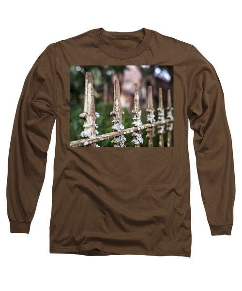 Fleur De Lis Finial Long Sleeve T-Shirt