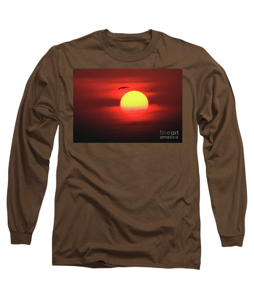 Flight To The Sun Long Sleeve T-Shirt