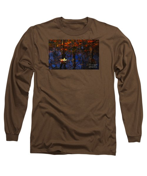 Floating In Fall Long Sleeve T-Shirt