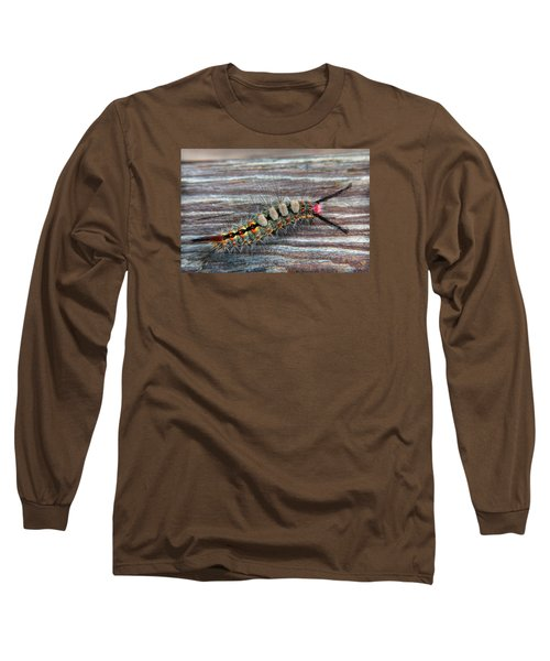 Florida Caterpillar Long Sleeve T-Shirt by Hanny Heim