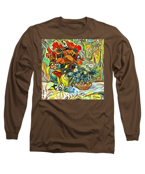 Flower Burst Long Sleeve T-Shirt