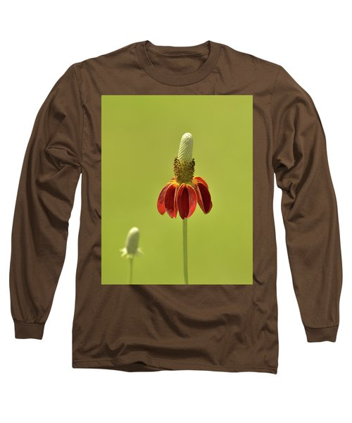 Flower  Long Sleeve T-Shirt by Nancy Landry