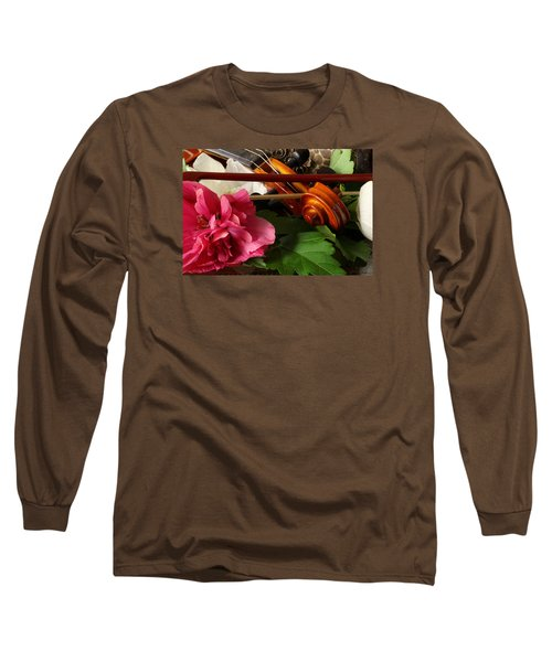Flower Song Long Sleeve T-Shirt by Robert Och