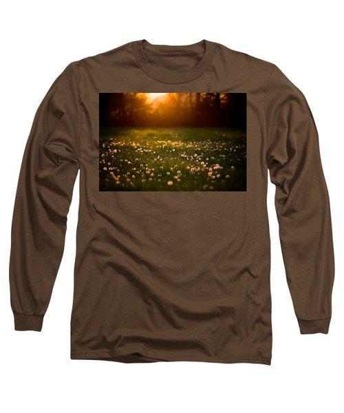 Flowers  Long Sleeve T-Shirt by Evgeny Vasenev