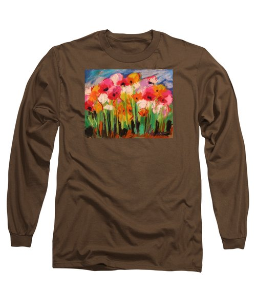 Flowers Long Sleeve T-Shirt by John Williams