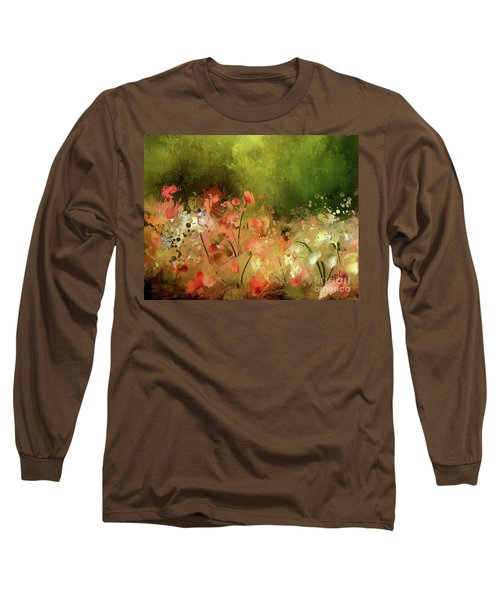 Long Sleeve T-Shirt featuring the photograph Flowers Of Corfu by Lois Bryan