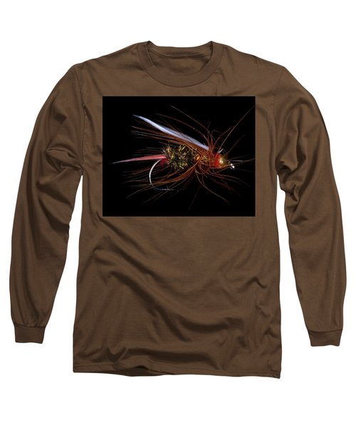 Long Sleeve T-Shirt featuring the photograph Fly-fishing 4 by James Sage