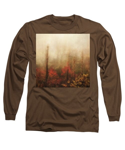 Foggy Fall On The Parkway Long Sleeve T-Shirt