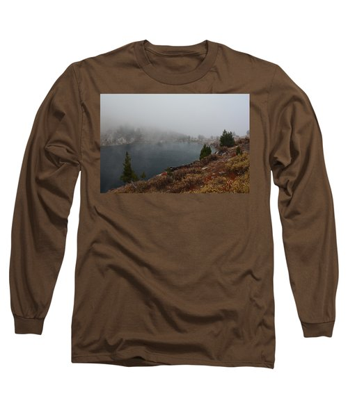 Foggy Liberty Lake Long Sleeve T-Shirt