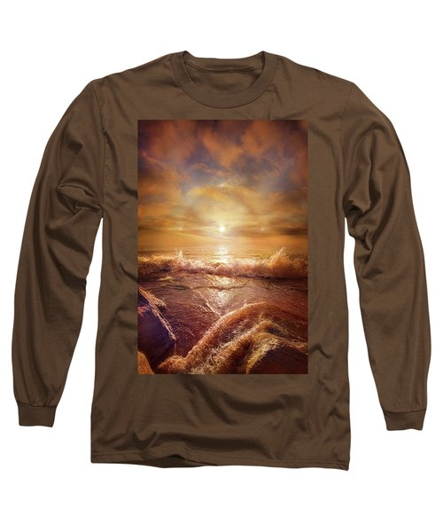 Long Sleeve T-Shirt featuring the photograph For Everything Give Thanks by Phil Koch