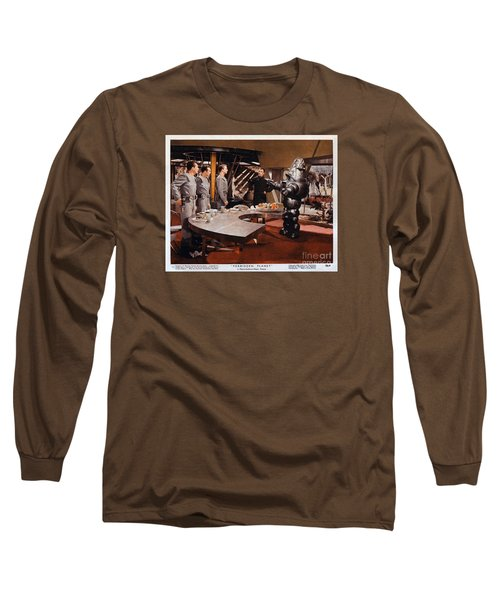 Forbidden Planet Amazing Poster Inside With Scientist Long Sleeve T-Shirt