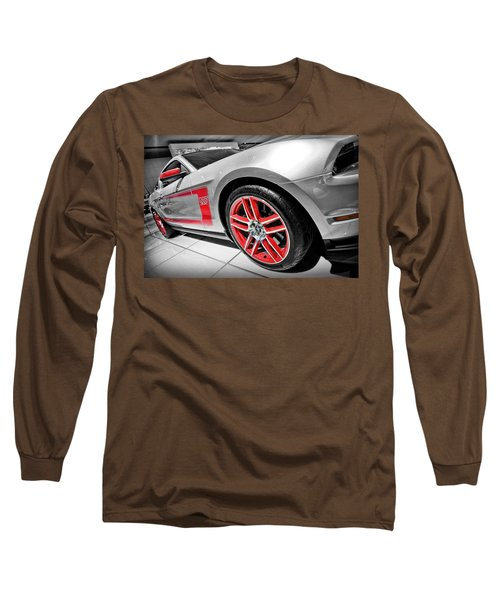 Ford Mustang Boss 302 Long Sleeve T-Shirt