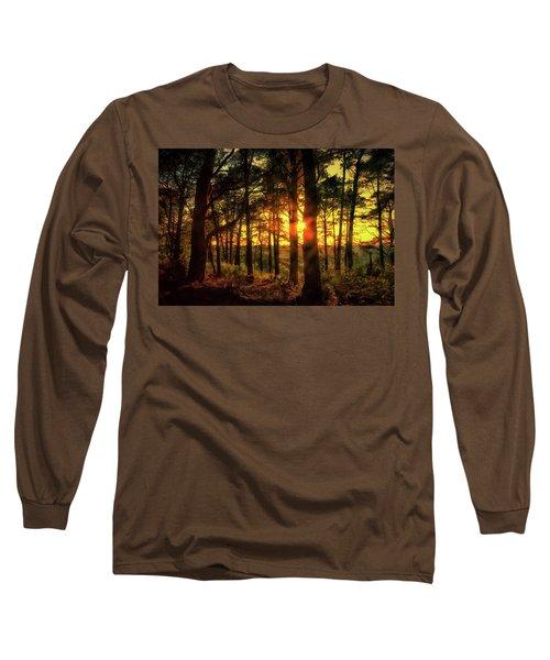 Forest Sunset Long Sleeve T-Shirt