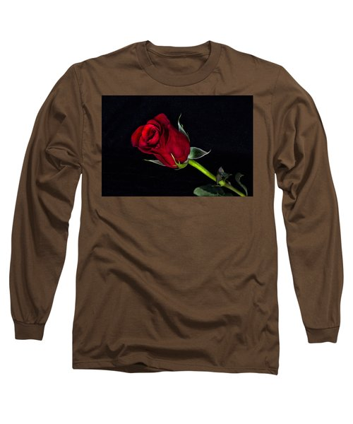 Forever Lasting Rose  Long Sleeve T-Shirt by Betty Pauwels