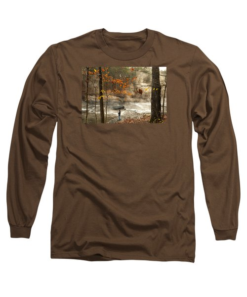 Fork River In Fall Long Sleeve T-Shirt
