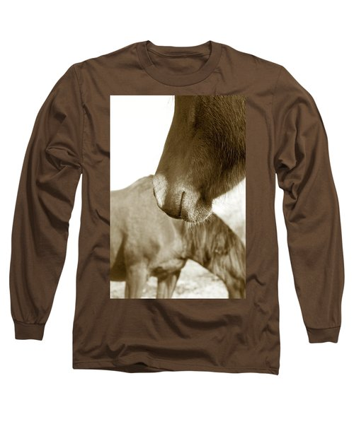 Form Of A Horse Long Sleeve T-Shirt