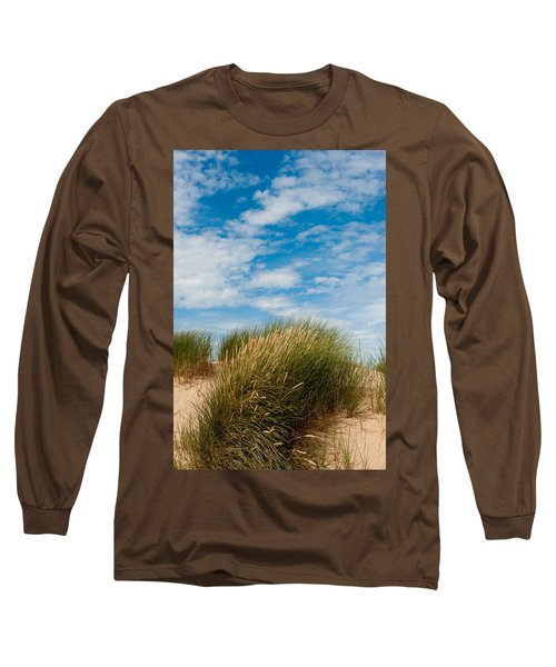 Formby Sand Dunes And Sky Long Sleeve T-Shirt