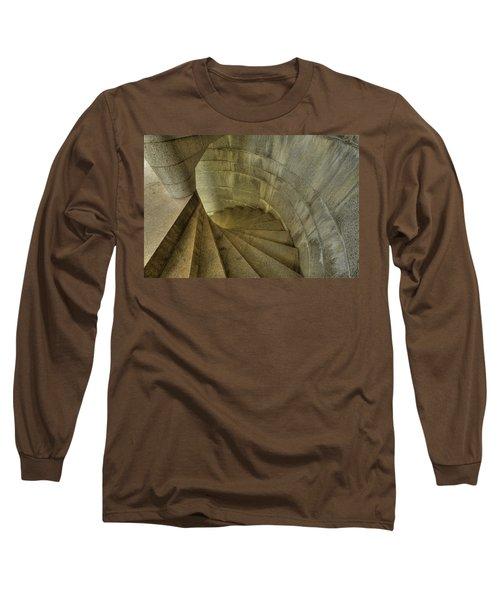 Fort Popham Stairwell Long Sleeve T-Shirt