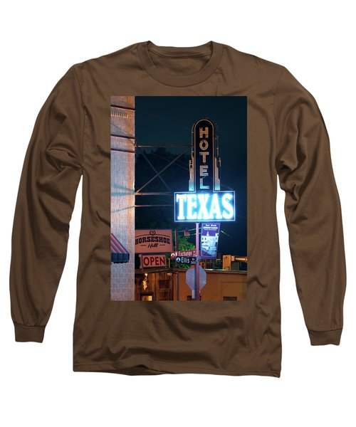 Fort Worth Hotel Texas 6616 Long Sleeve T-Shirt